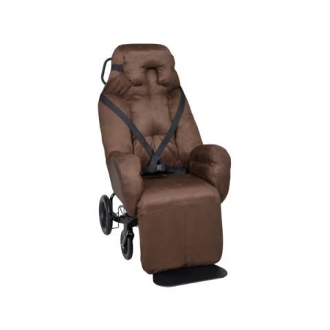 Πολυθρόνα εσωτερικού/εξωτερικού χώρου με χειροκίνητη οπίσθια ανάκλιση