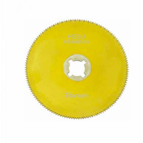 Στρογγυλή λεπίδα γυψοπρίονου απο τιτάνιο