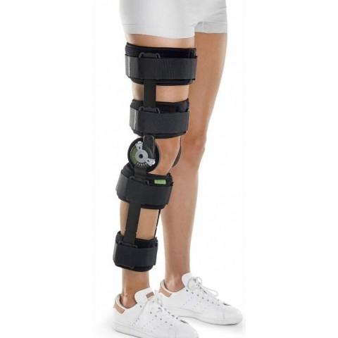 Μηροκνημικός νάρθηκας γόνατος με γωνιόμετρο