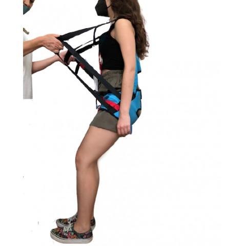 Ζώνη χειροκίνητης ανάρτησης με συγκράτηση στην πλάτη ( τιράντες )