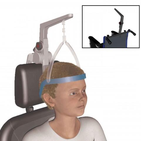 Ακινητοποιητής Κεφαλής για εύκαμπτες επιφάνειες στήριξης (πλάτη αμαξιδίου) Head Active®