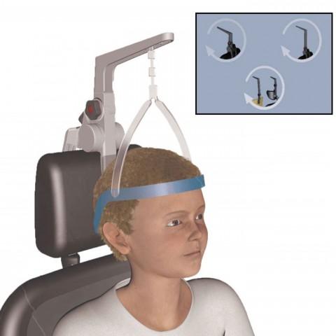 Ακινητοποιητής Κεφαλής πολυχρηστική συσκευασία τριών επιλογών τοποθέτησης  Head Active®