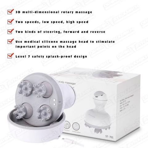 Συσκευή Μασάζ για Κεφάλι & Σώμα