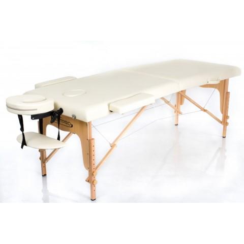 Rest Pro Classic 2 Κρεβάτι Φυσικοθεραπείας-Μασάζ Βαλίτσα Ξύλινο