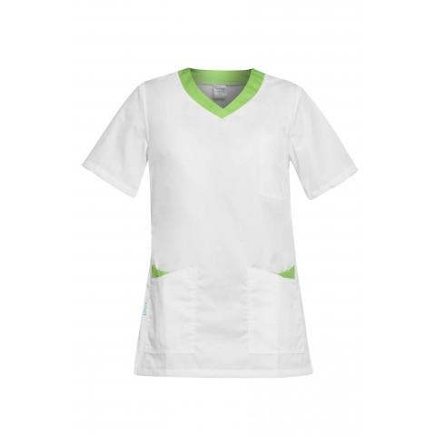 Ρούχα Εργασίας PAOLA Λευκό /Πράσινο