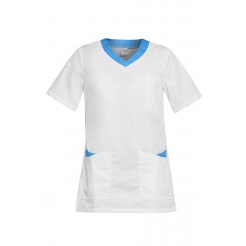 Ρούχα Εργασίας PAOLA Λευκό /Γαλάζιο