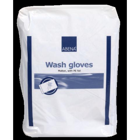 Γάντια καθαρισμού ABENA συσκευασία 50τεμ. Λευκά 16 x 23cm